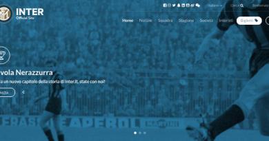 inter; sitoweb